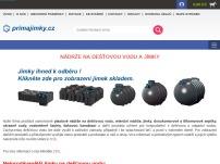 Primajimky.cz – Nádrže na dešťovou vodu a jímky