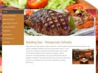 Bowling Bar – Restaurant Siňorita