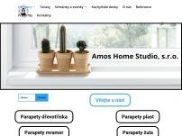 Amos Home Studio – WPC terasy a vnitřní parapety