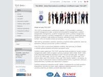 TDS Brno - Sekce řízení jakosti a certifikace