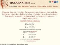 TISKÁRNA - BOR spol. s r.o.