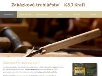 Zakázkové truhlářství – K&J Kraft