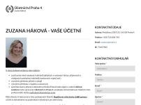 Účetní Praha - Zuzana Háková