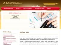 UK OL Krchňáková s.r.o. – účetní kancelář