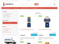 Mechanické prodejní automaty Chupa Chups Surprise, Mentos Surprise