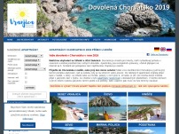 Chorvatsko – apartmány u moře