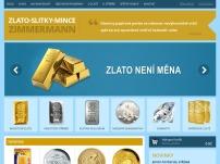 Zlato-Slitky-Mince – Zimmermann